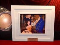 "Signed "" BEAUTY and the BEAST "" Cast Autograph, COA, UACC FRAME, Blu Ray DVD"