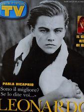 TV Sorrisi e Canzoni n°16 1998 Leonardo Di Caprio Renato Zero  [D4]