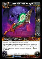 world of warcraft wow tcg reign of fire: corrupted ashbringer x 4
