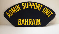 2 Admin Support Unit Bahrain Patches Patch Administrative