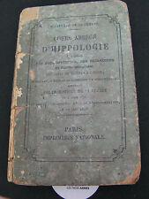 A0142-Cours abrégé d'Hippologie Sous-officiers Troupes à cheval 1875-1914