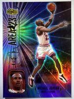 Michael Jordan 1998 UPPER DECK IONIX #A7 AREA 23 HOLOFOIL REFRACTOR LIKE INSERT
