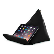 Tablet Book Rest Cushion Bean Bag Pillow Stand iPad Kindle Seat Outdoor Garden Black