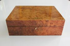 Vacheron Constantin Burl Wood Watch Box by Michel Perrenoud