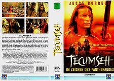 """VHS - """" TECUMSEH - Im Zeichen des Pantherauges """" (1995) - Jesse Borrego"""