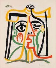 Tete de femme by Pablo Picasso Art Print Cubism Poster 24x28
