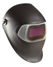 3M 07-0012-31BL Welding Helmet, Shade 8to12, Black/Silver