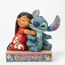 Jim Shore Ohana Means Family Disney Traditions Lilo and Stitch Figurine Showcase