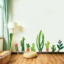 Cactus Plant Home Decor Wall Sticker Bedroom Living Room Decoration Wall Decal