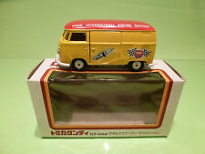 VOLKSWAGEN T2  1:43  TOMICA DANDY -  NGK RACING SERVICE  - GOOD CONDITION IN BOX