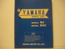 YAMAHA R3 / R3C   PARTS LIST CATALOGUE PIECES DETACHEES