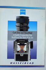 Hasselblad brochure for V 500C/M 6x6 cameras + 80/50/100/150/180 mm lenses A12