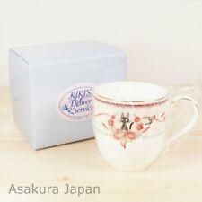 Kiki's Delivery Service Noritake Mug PINK tea cup Studio Ghibli Bone china