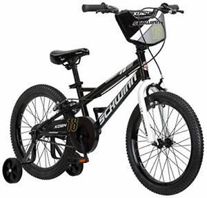 Schwinn Koen Boys Bike for Toddlers and Kids, 18-Inch Wheels, Black