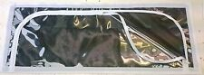 Jayco ,caravan, pop top, clear roof skirt window with micromesh , set of 4