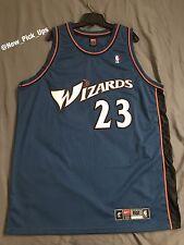 Nike Authentic Jordan Jersey Wizards NBA XXL 52 Away Blue