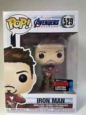 Funko Pop! Avengers Endgame Iron Man 2019 Fall Convention #529