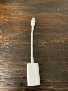 GENUINE Apple Lightning to USB Camera Adapter MD821AM/A A1440 PREOWNED!
