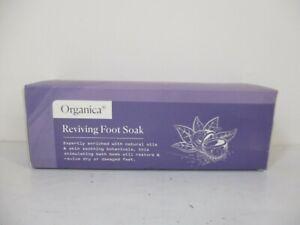 Organica Reviving Foot Soak Bath Bombs Restore Revive Dry Damaged Feet Amz 182