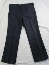 Wrangler USA 82NV Sta Prest Pants Tag 36x29 Measure 36x29 Polyester Dress Slacks