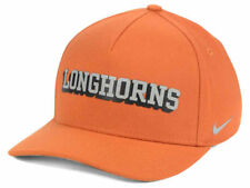 ebc7b18830bb4 Nike Dri-fit Hat Cap Texas Longhorns NCAA Spellout Logo Swoosh Hook EM Horns