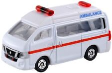 Tomica No.18 Nissan NV350 caravan ambulance blister Miniature Car Takara Tomy