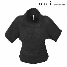 OUI Moments grob truco-suéter roll cuello Jersey de-36 gb-10 fr/es-38 usa-4