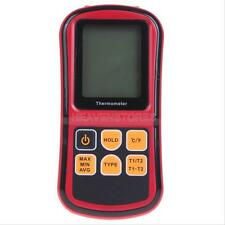 GM1312 Digital Thermometer 2 Channel Temperature Meter Tester K/J/T/E/R/S/N Type
