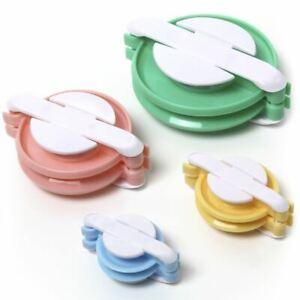4er Pompon Maker Bommelmacher Set Bommel Gerät Pom-pom Donut Kinder