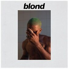 Frank Ocean BLOND 2 LP Import rare CLEAR vinyl 1000 Press