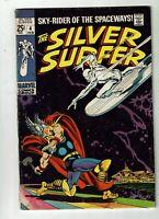 Silver Surfer #4, VG 4.0, Thor vs. Silver Surfer!
