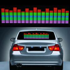 90X25CM Car Music Rhythm LED Flash Light Lamp Sound Activated Equalizer Sticker