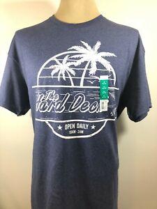 New NWT Men's Top Gun Maverick The Hard Deck Vintage Design T-Shirt Size XL