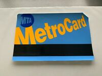 "5""X8"" NY NYC SUBWAY SIGN VINYL ADHESIVE DECAL MTA METROCARD STICKER NOT A CARD"