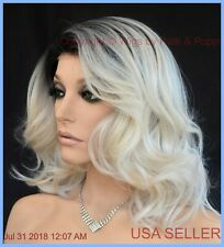 PASSION RENE OF PARIS Orchid Wigs - LACE FRONT - New WAVY CREME DE COCO ROOTED