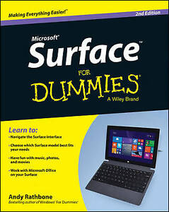 Surface For Dummies by Rathbone, Andy Book The Cheap Fast Free Post