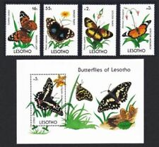 Unmounted Mint Benin Block16 complete.issue. Never Hinged 1996 Butterflies