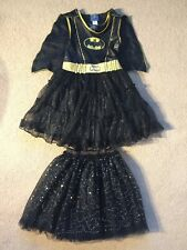 **Bat Girl** Deluxe DC Comics • Fancy Dress • Girls Costume • Size 5-6