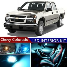 11 pcs LED ICE Blue Light Interior Package Kit for Chevy Colorado 2004-2012