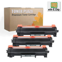 3PK TN730 TN760 Toner For Brother HL-L2390DW L2395DW MFC-L2710DW L2730DW W/CHIP
