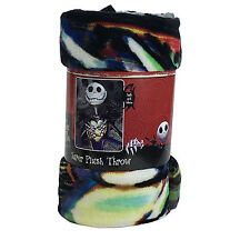 New Nightmare Before Christmas Jack Super Soft Micro Raschel Large Throw Blanket