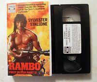 VHS: Rambo III 3: HBO/Thorn EMI clamshell