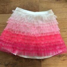 Baby Girls Gap Pink Frill Skirt, Age 2 Years, Lot 909a