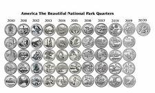 2010-2020 NATIONAL PARK 51 COIN QUARTER SET Denver - ALL NICE UNC