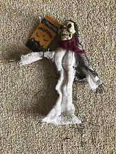 Halloween 25 cm pendant reaper squelette avec Blanc Peignoir effrayant