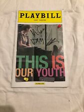 THIS IS OUR YOUTH BROADWAY SIGNED MICHAEL CERA TAVI GEVINSON KIERAN CULKIN