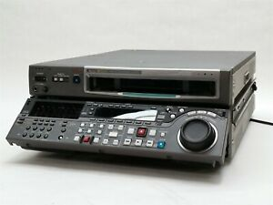 SONY MSW-M2000 VTR DIGITAL BETACAM SP MPEG IMX STUDIO EDITING PLAYER RECORDER