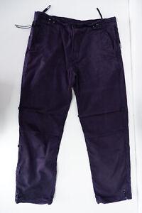 """Maharishi Mens Combats Pants Cargo Trousers Size L Regular Fit 28"""" Navy Blue"""