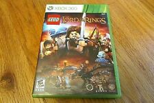 LEGO The Lord of the Rings (Microsoft Xbox 360, 2012) Preowned With Manual
