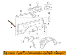 TOYOTA OEM 05-13 Tacoma Pick Up Box Bed-Side Panel Front Support Left 6560904010